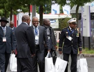 Expodefensa team at ShieldAfrica