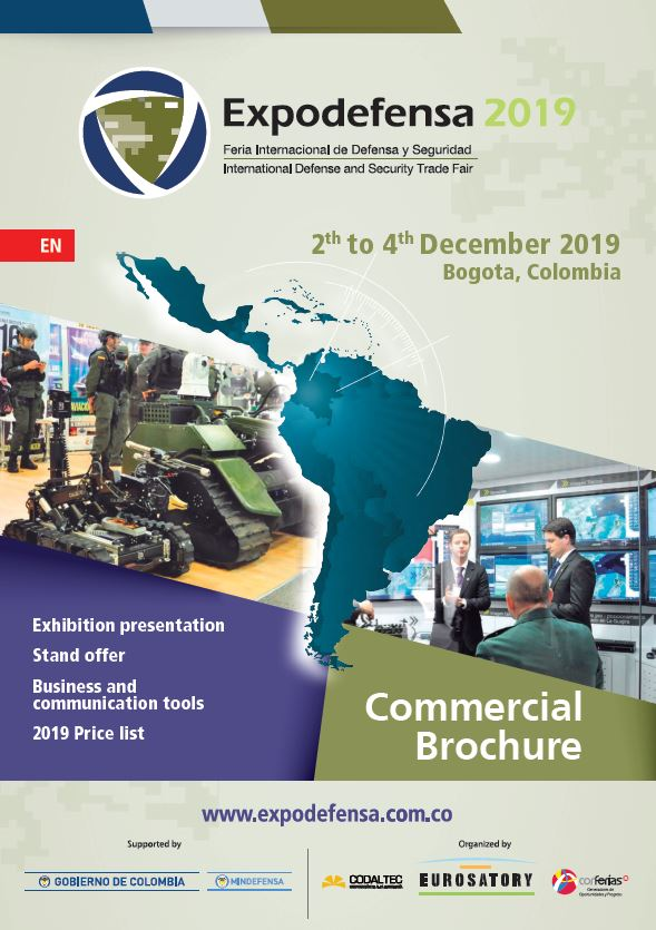 Expodefensa 2019 - Commercial brochure