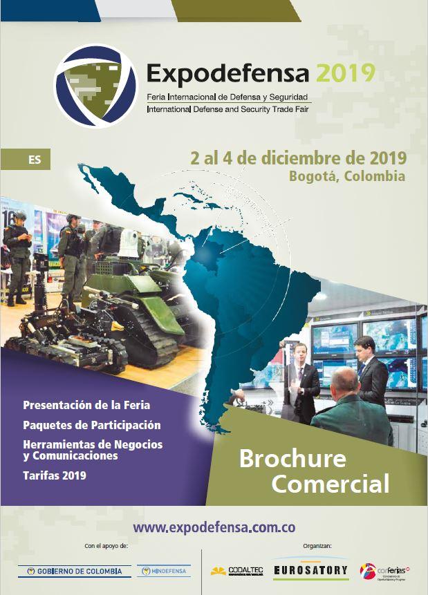 Expodefensa 2019 Brochure Comercial