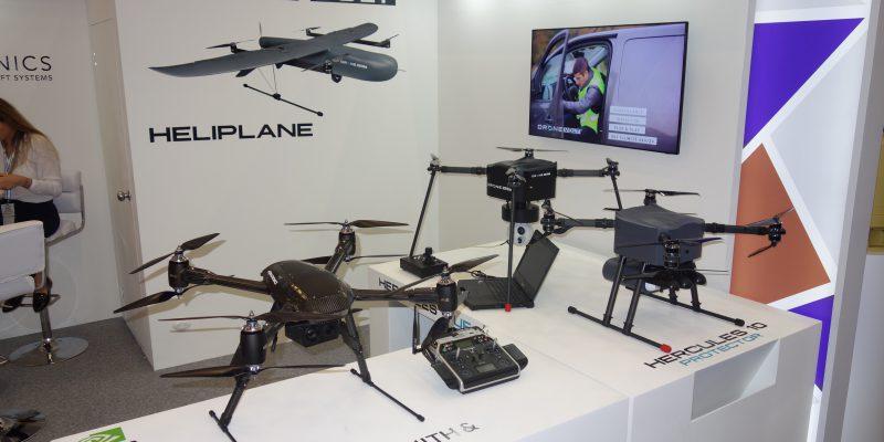 Drone Volt Aerailtronics Uav Heliplane Hercules Altua Zenith Pensar DSC09838 Expodefensa 2017 [FR]