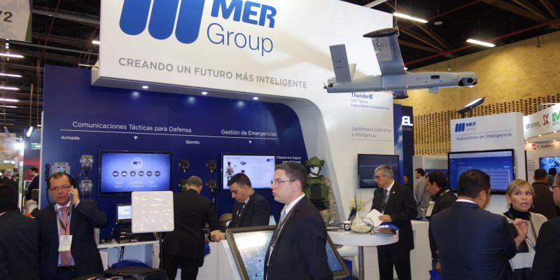 Mer Group Bluebird ThunderB Cyber Intelligence Communication Uav DSC09795 Expodefensa 2017 [IL]
