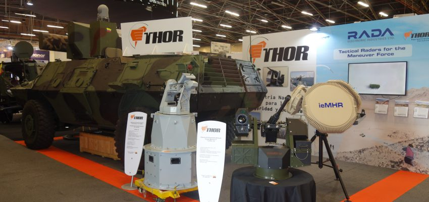 Thor Rada Turret Rws Remote Air Defense Weapon Asv 4x4 Armored Vehicle DSC09959 Expodefensa 2017 [IL] [CO]