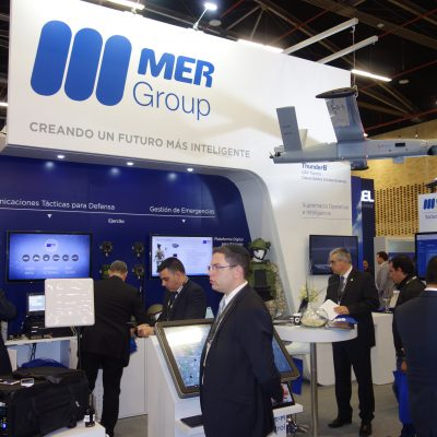 Mer Group Bluebird ThunderB Cyber Intelligence Communication Uav DSC09795 Expodefensa 2017 [IL]