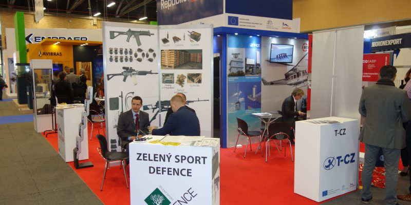 Zeleny Sport Defence T-CZ Communication Weapon Ammunition DSC09564 Expodefensa 2017 [CZ]
