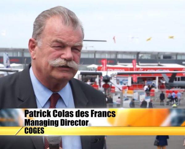 Expodefensa 2019 - Photo Page Actu Patrick Colas des Francs Defensewebtv