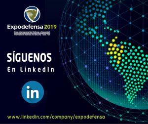 Expodefensa 2019 SÍGUENOS en LinkedIn